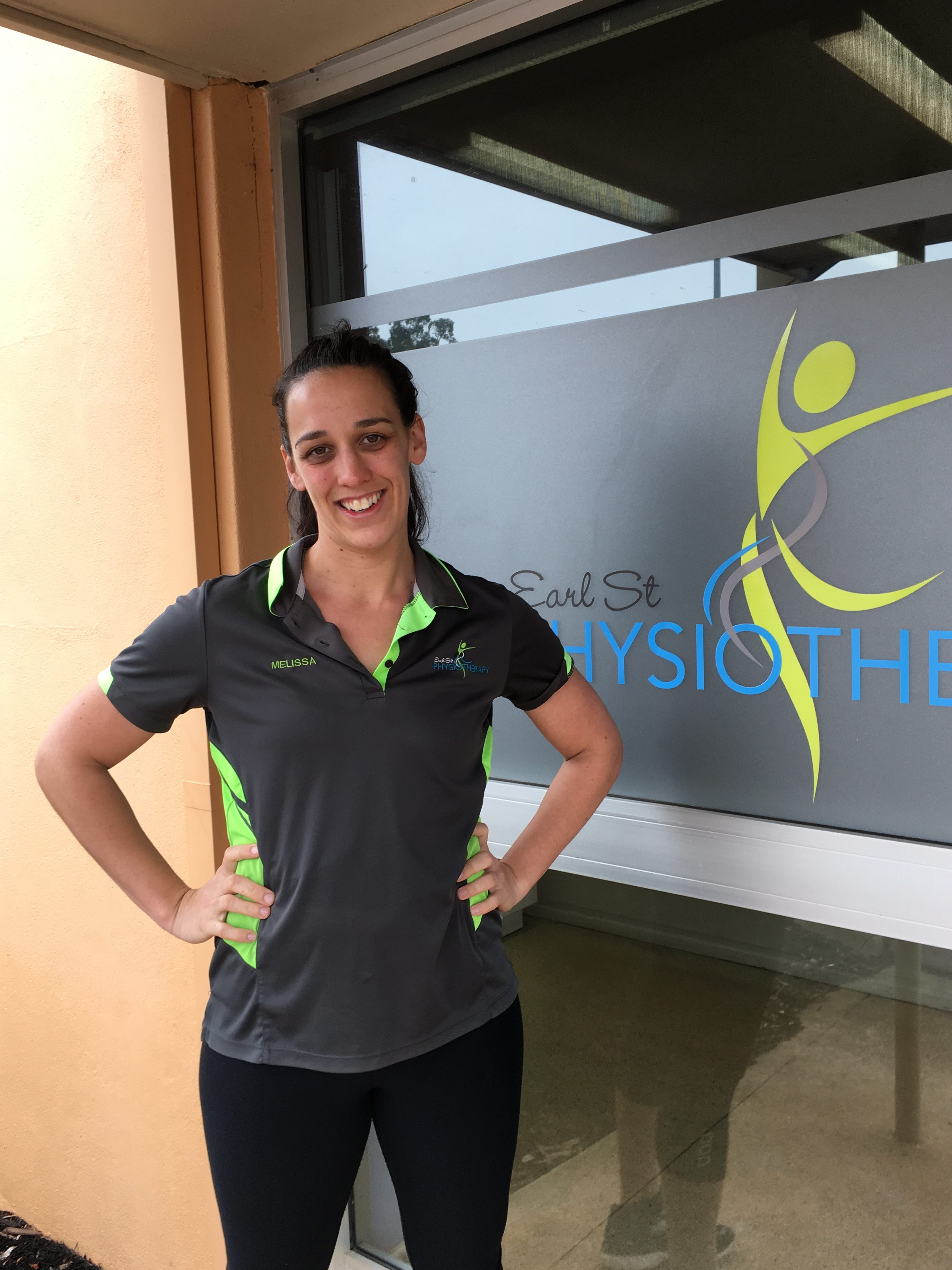 Melissa Tinker, Earl St Physiotherapy
