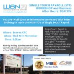 Single Touch Payroll and Business After Hours BEACON