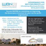 Governance for Not for Profits and BAH WYALCATCHEM