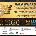Business Awards Gala Dinner and Presentation