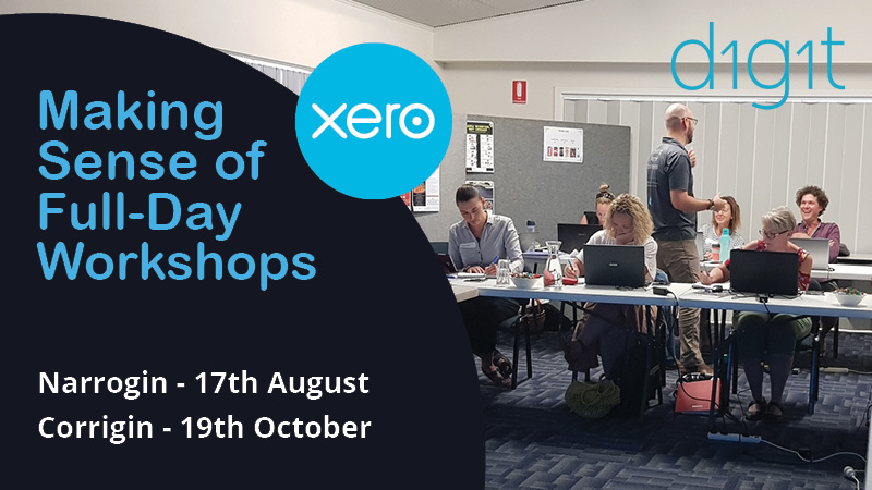 Narrogin and Corrigin Xero Workshops